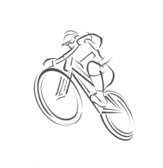 Neuzer Balaton Plus 26 Rózsa női városi kerékpár (elemes világítással)