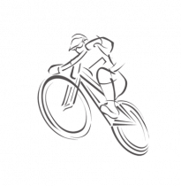 Csepel Budapest A 26 1sp Piros női városi kerékpár