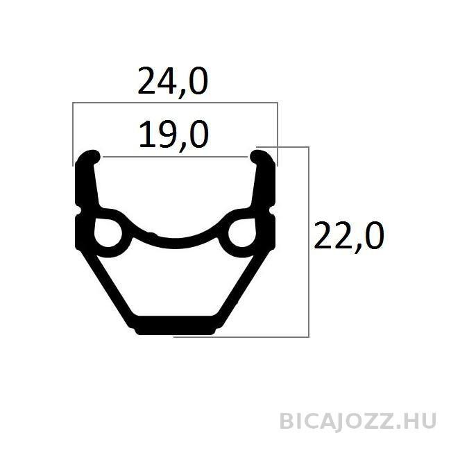 ABRONCS 24X1,75 MT 240 DUPLAFALU NATUR CSISZOLT