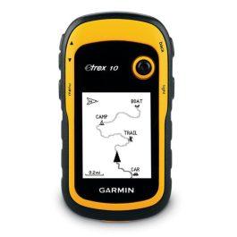 Garmin eTrex 10 navigáció