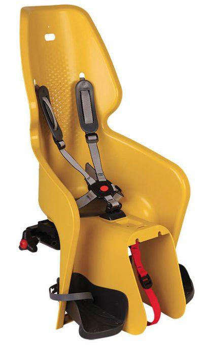 BikeFun Lotus Standard konzolos gyerekülés - mustársárga