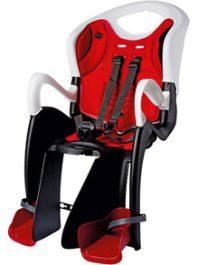 Bikefun Tiger RelaxCity gyermekülés csomagtartóra - fehér