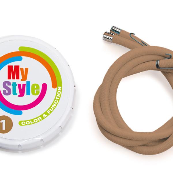 Casco MyStyle szalag - világosbarna (Méret: 0)