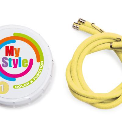Casco MyStyle szalag - sárga (Méret: 1)