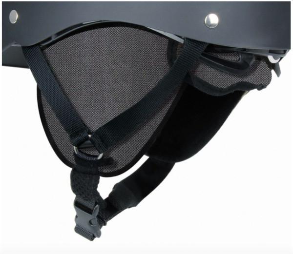 Casco Urbanic téli fülvédő - fekete - L (MTBE sisakhoz)