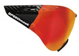 Casco SPEEDmask Carbonic lencse - piros
