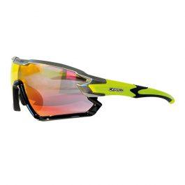 Casco SX-34 Carbonic sportszemüveg - fekete/neonsárga