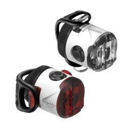 Lezyne FEMTO DRIVE USB lámpa szett - fehér
