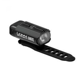 Lezyne HECTO DRIVE 500XL USB első lámpa - fekete