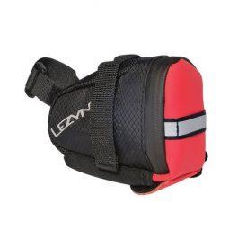 Lezyne S-CADDY nyeregtáska - fekete/piros