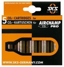 SKS-Germany Airchamp Pro CO2 patron (5 db)