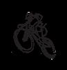 Brakco mountain bike fékbetét V csavaros M-948V 60mm fekete