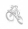 Fékbetét tárcsa Brakco Shimano Deore BP-10 mech. fekete