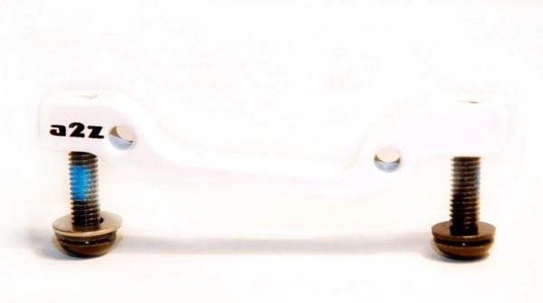 a2Z IS->PM 160 tárcsafék adapter - fehér (160mm)