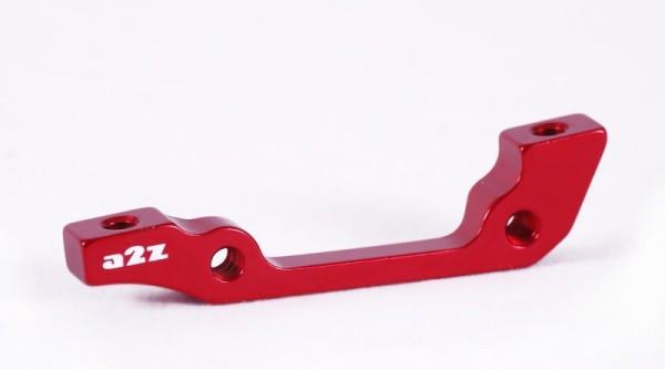 a2Z IS->PM 180 tárcsafék adapter - piros