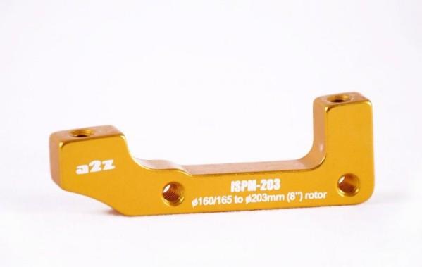 a2Z IS->PM (E203/H185) tárcsafék adapter - arany