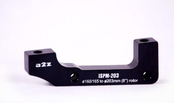 a2Z IS->PM (E203/H185) tárcsafék adapter - fekete