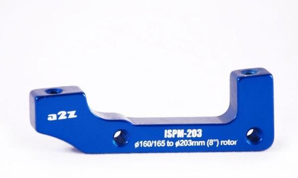 a2Z IS->PM (E203/H185) tárcsafék adapter - kék