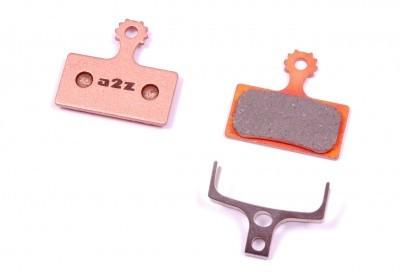 A2Z AZ-635S szinterezett fékpofa tárcsafékhez