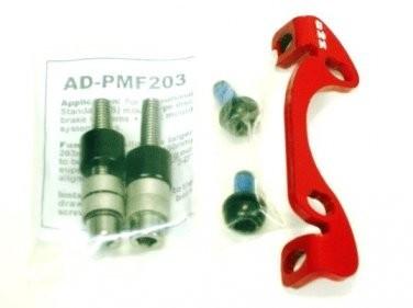 a2Z AD-PMF203 tárcsafék adapter - piros