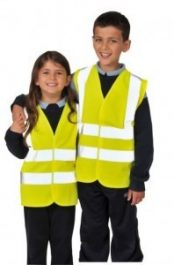 Portwest JN14 gyermek láthatósági mellény - S