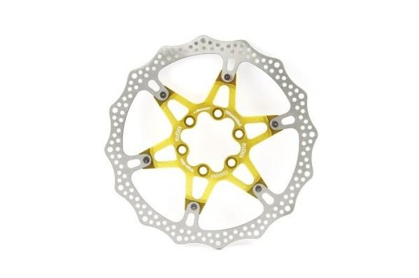 A2Z ATD 6 csavaros féktárcsa [arany, 180 mm]