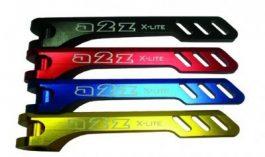 a2Z X-Lite Ti első+hátsó gyorszár [piros]