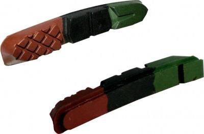 Sunrace BPM95 fékpofa V-fékhez (csak gumi) - terep színű
