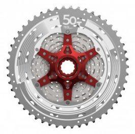 Sunrace CSMX80 11-50T racsni - ezüst (11 sebesség)