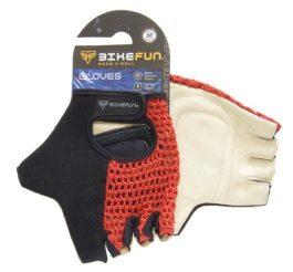 Bikefun Knit rövid ujjú kötött kesztyű - fekete - S