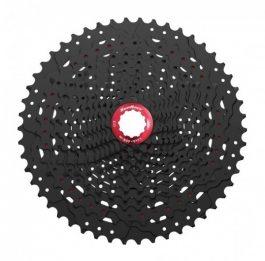 Sunrace CSMZ90 WA5 12 sebességes fogaskeréksor - fekete-piros, 11-50
