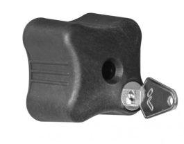 Menabo zárható tekerő kulccsal V2