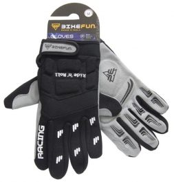 Bikefun Freeride hosszú ujjú kesztyű - fekete - M