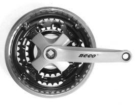 Neco 48/38/28T acél szürke hajtómü