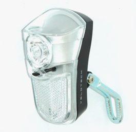 Velotech 1LED elemes első lámpa - hosszú