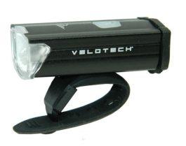 Velotech MIDI USB első lámpa - fekete