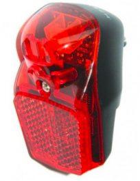 Velotech Lámpa hátsó 1led Retro fényérzékelős 2AAA