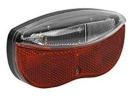 Velotech hátsó lámpa - elemed 3LED