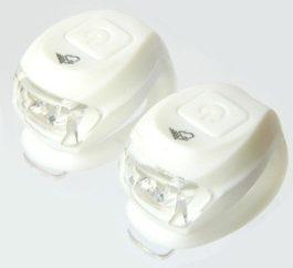 Velotech 2LED elemes villogó szett - fehér