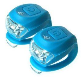 Velotech Villogó 2 LED-es -  kék