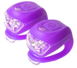 Velotech Villogó 2 LED-es - Lila