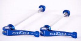 a2Z CrMo első+hátsó gyorszár [kék]