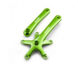 Csepel BCD hajtókar - fűzöld (165 mm)