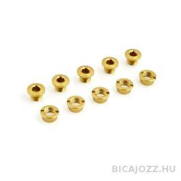 Csepel Lasco hajtómű csavar szett - arany (5 pár)