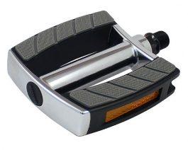 Csepel SP-828 pedál - ezüst/fekete