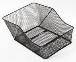 Csepel hátsó kosár - fekete (46x29x20 cm)