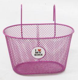 Csepel I Love My Bike első kosár - pink