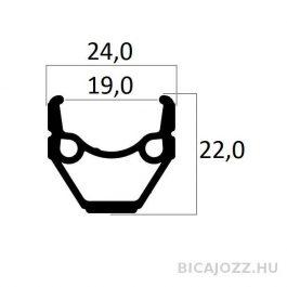 "BERETTA 28x1.75"" (19-622) felni (36 lyukas)"