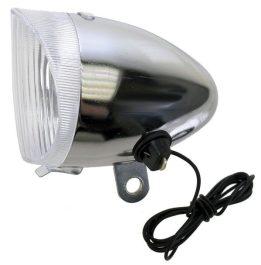 Csepel dinamós első lámpa 6V/2,4W - króm