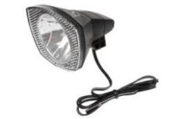 Csepel 10LUX dinamós első lámpa - fekete